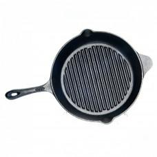 Чугунная сковорода - гриль Fissman 30 х 6 см