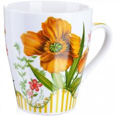 28231-3 кружка 340мл цветы подар/упак lr (х48)