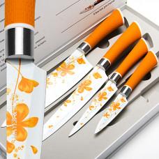 24144 набор ножей 4пр нон стик мв (х10)