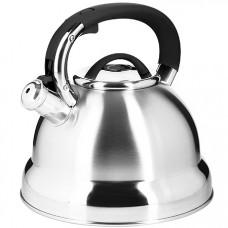 28990 чайник 4 л нерж/сталь со свистком mb (х12)