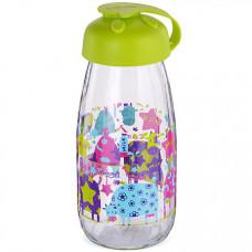 80539 бутылка для напитков стекло 0,25 л салатовая mb (х24)
