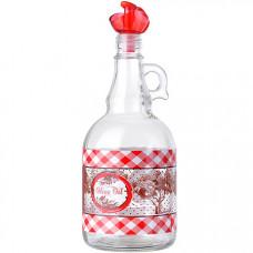 80569-1 бутылка для масла 1 л красный mb (х12)