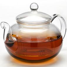 Заварочный чайник 24940 стекло 1,0л с крышкой мв *16