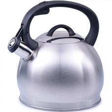 28206 чайник 2,7л нерж/сталь со свистком mb (х12)