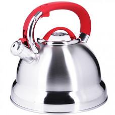 28992 чайник 4 л нерж/сталь со свистком mb (х12)