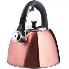 28970 чайник 3 л нерж/сталь со свистком mb (х12)