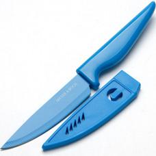 Нож 24093 10см с чехлом в индув. упак. мв *36