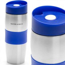 26631-1 термокружка синяя 380мл нерж.mb (х24)
