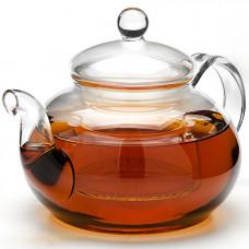 Заварочный чайник 24935 стекло 650мл с крышкой мв *16