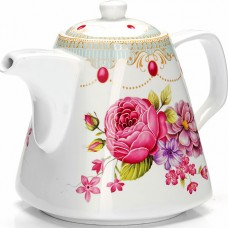 "26548 заварочный чайник 1,1л ""цветы"" lr (х18)"