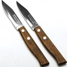 Ножи 23429 7,6 см 2шт ручка дерево