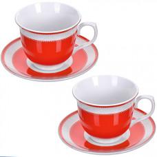 28634 чайная пара 4 предмета 220мл lr (х12)