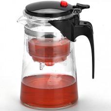 4024 заварочный чайник750мл стекл.mb дав/клап(х24)