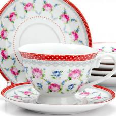 """Набор чайный 25921 12пр 150мл """"цветы"""" lr *6"""