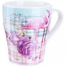 28220-1 кружка 340мл фламинго подар/упак lr (х48)