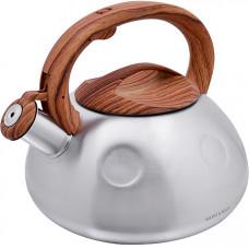 28197 чайник 3л нерж/сталь со свистком мв (х12)