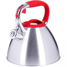 28974 чайник 3 л нерж/сталь со свистком mb (х12)