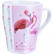 28217 кружка 340мл фламинго подар/упак lr (х48)
