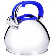28976 чайник 3,4 л нерж/сталь со свистком mb (х12)