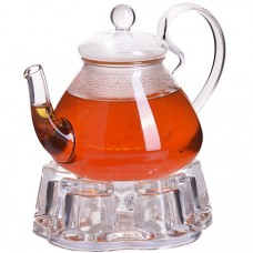 29349 чайник стекло 600мл+ подогрев,сито мв (х16)