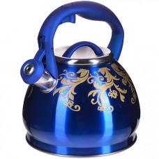 28441 чайник 3 л нерж/сталь со свистком mb (х12)