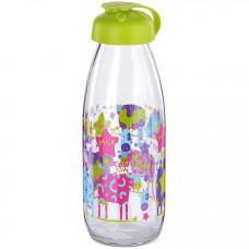 80541-1 бутылка для напитков стекло 0,5 л салатовый mb (х24)