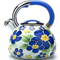 23851 чайник 3,5л со свистком эмаль мв (х12)