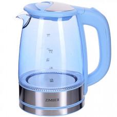 11238 электрический чайник с подсветкой, 1,7 литра, 2200 вт, zm, в упаковке 6 штук