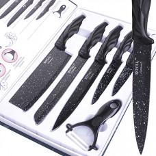 316 набор ножей 6пр с топориком в упаковке (х10)