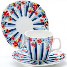 Набор кофейный 24754 12пр 80мл цветок в подарочный упаковке