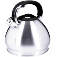 28986 чайник 4,3 л нерж/сталь со свистком mb (х12)