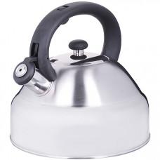 28996 чайник 3,5 л нерж/сталь со свистком mb (х12)