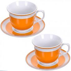 28637 чайная пара 4 предмета 220мл lr (х12)