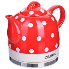 11226 чайник электр. керамика 0,8 л 1350вт zm (х4)