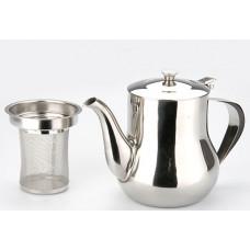 Заварочный чайник 403 1,2л со свистком филтром