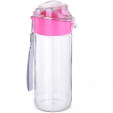 80544 бутылка для напитков стекло розовая 0,5 л mb (х15)