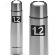 27610 термос 1,2л нерж/сталь мет/колба mb (х24)