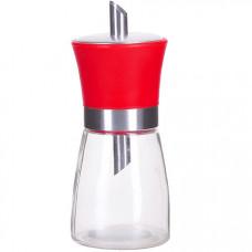 28715 сахарница с дозатором 200 гр lr красный (х72)