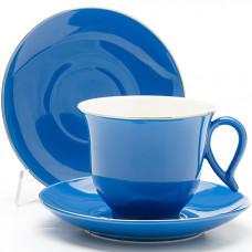 Чайная пара 24747 220мл 4пр синий lr *12