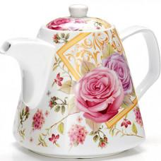 "26550 заварочный чайник 1,1л ""цветы"" lr (х18)"