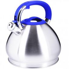 28979 чайник 3,4 л нерж/сталь со свистком mb (х12)
