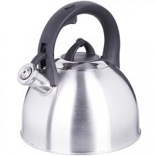 28997 чайник 3 л нерж/сталь со свистком mb (х12)