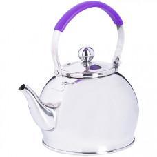 29005 заварочный чайник глянцевый 1 литр mb (х24)