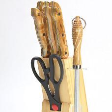 Набор ножей 485 9пр мрам.кор.*12