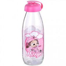 80548 бутылка для напитков стекло 0,5 л розовая mb (х24)
