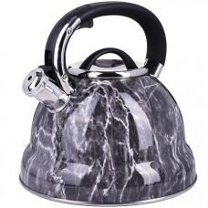 28994 чайник 4 л нерж/сталь со свистком mb (х12)
