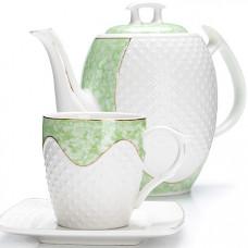 26834 чайный/сер. 13пр (220мл+1,3л чайник) lr (х4)