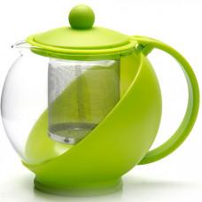 25739-1 зав/чайник 1,25л с ситеч зеленый mb(х24)