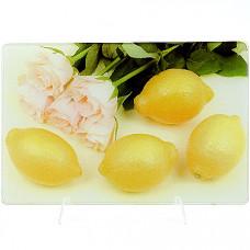 23301-1 доска разделочная лимон 30х20см мв (х24)