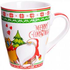 28466 кружка merry christmas в под/уп 340млlr(х48)